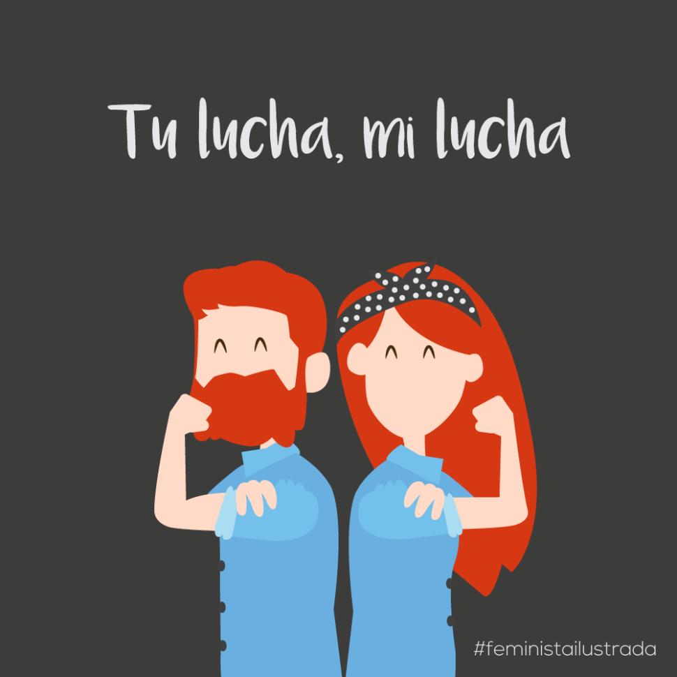 Luchemos juntos por la igualdad - feminismo