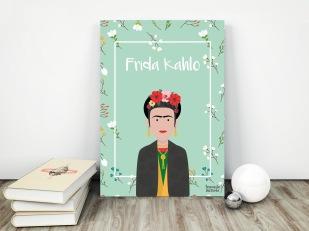 Lámina Frida Kahlo